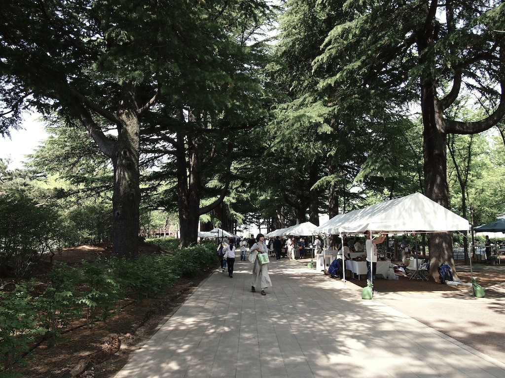松本クラフトフェア2014会場