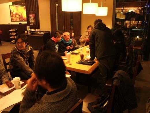 STARBUCKS_COFFEE_大府市柊山店にてLOVE企画ミーティング