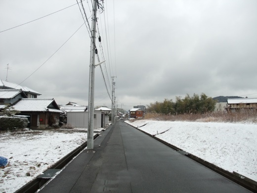 名古屋市の雪景色