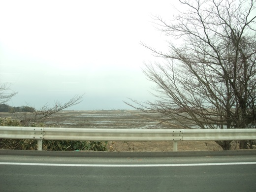 相馬市:東日本大震災の爪痕を車内から見る