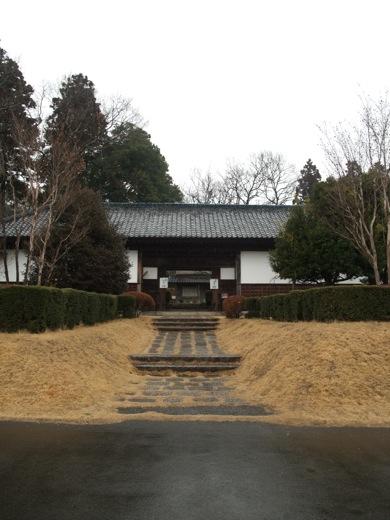 益子参考館の一部は震災により半壊している