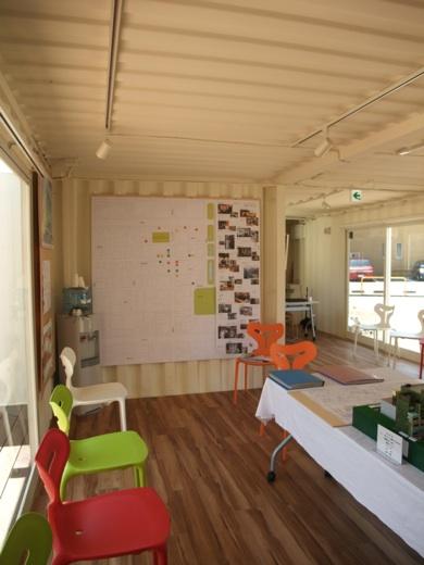 アトサキセブン展示スペース