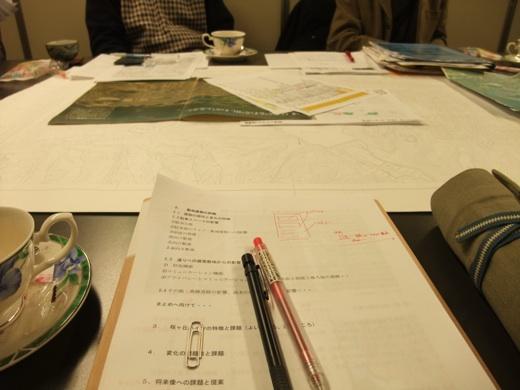 街並みデザイン研究会会合。