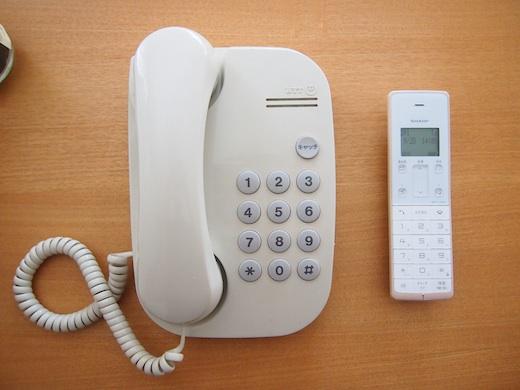 シャープの電話機