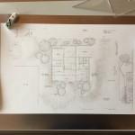 [sketch #1]母屋の隣に新家を建てるイメージ