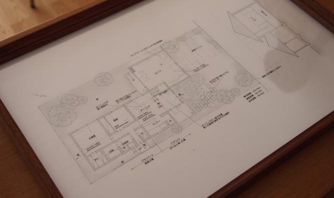 小さな平屋建ての住宅