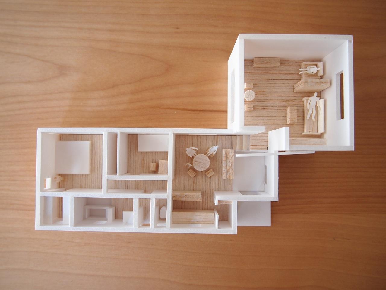 小さな平屋建ての住宅03