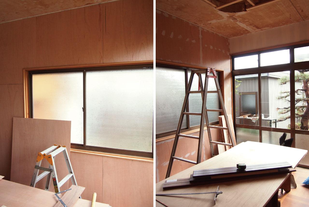 古い家一室の事務所06